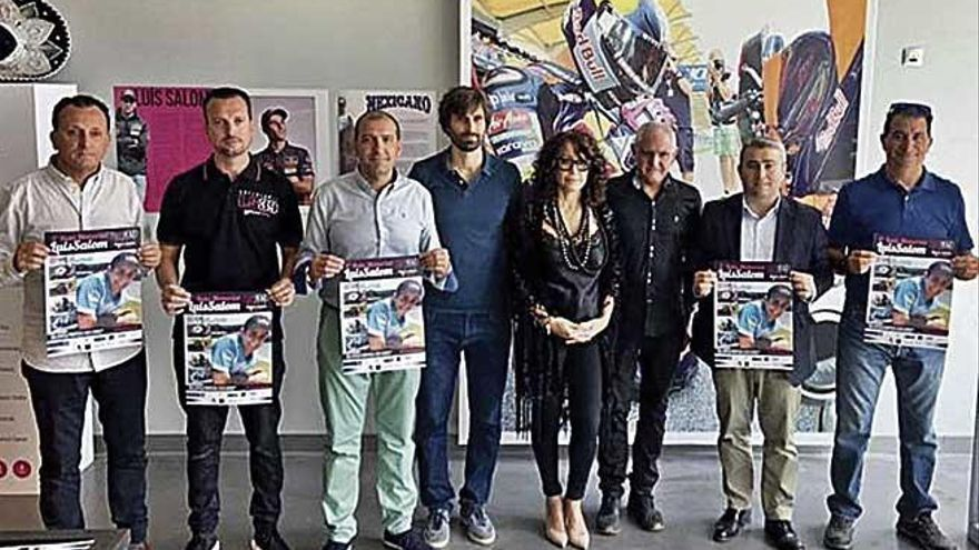 La tercera edición de la Ruta Memorial Luis Salom reunirá a más de 200 motos el próximo domingo