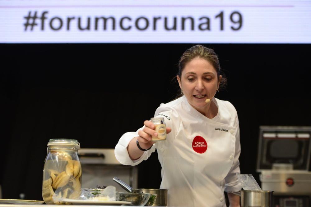 Un total de 250 expositores muestran sus productos en el Fórum Gastronómico que se celebra hasta mañana en Expocoruña.