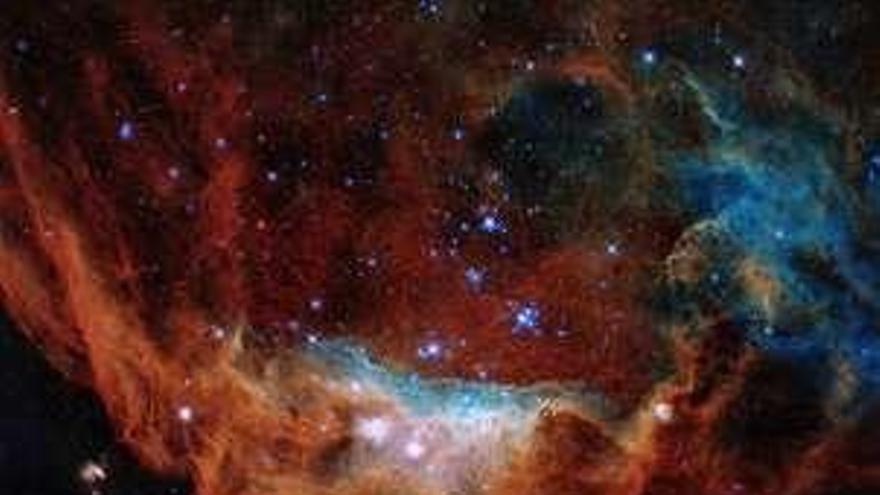 Hubble celebra 30 años con la imagen de un espectacular 'arrecife cósmico'