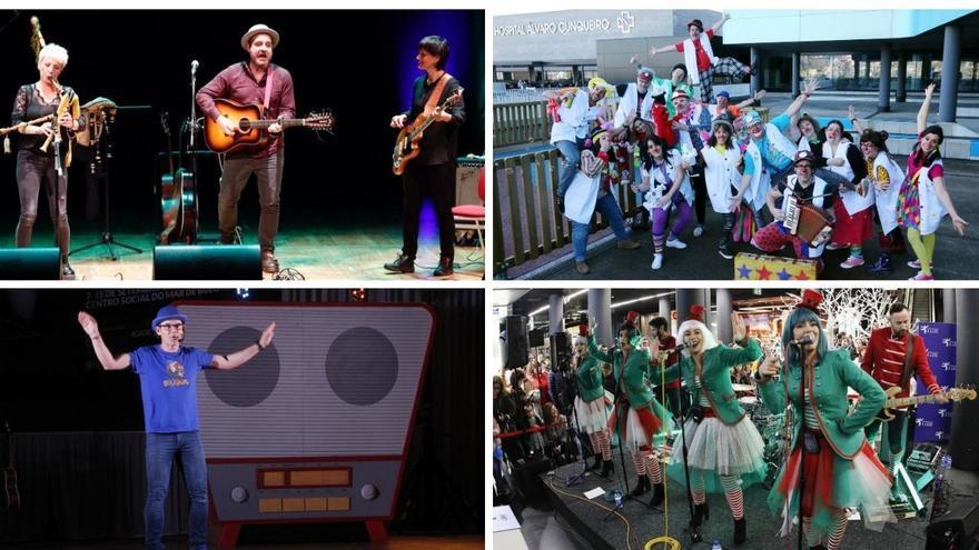 Fin de semana de música, magia y teatro en Vigo contra el cáncer infantil