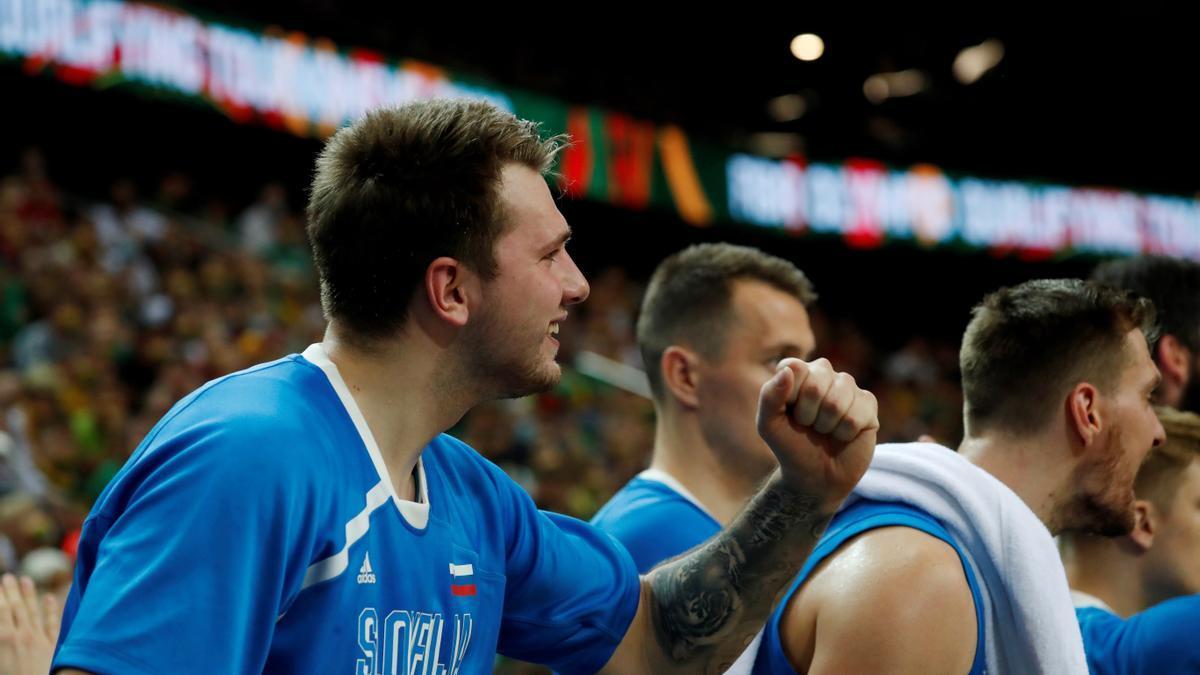Doncic y Eslovenia serán rivales de España en los JJOO.