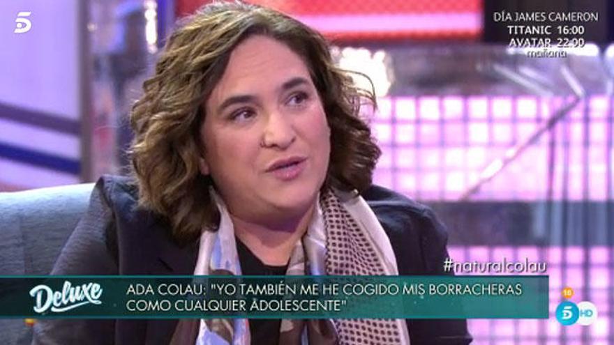 Ada Colau confiesa su bisexualidad en televisión