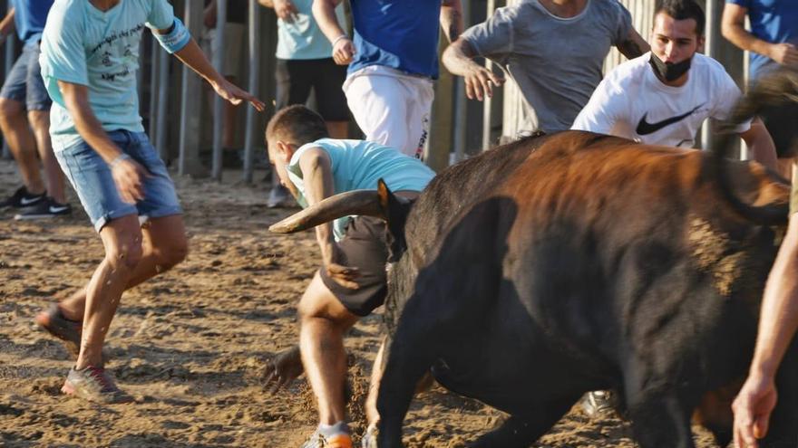 Susto en la segunda jornada de cerriles de las fiestas de Vila-real