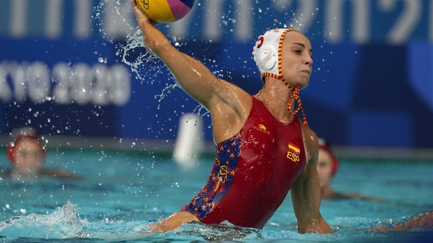 La selección femenina de waterpolo, a semifinales tras ganar a China