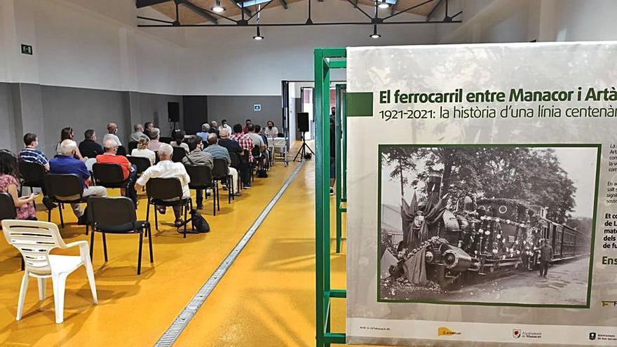 Artà celebra el centenario de la llegada del tren de Llevant