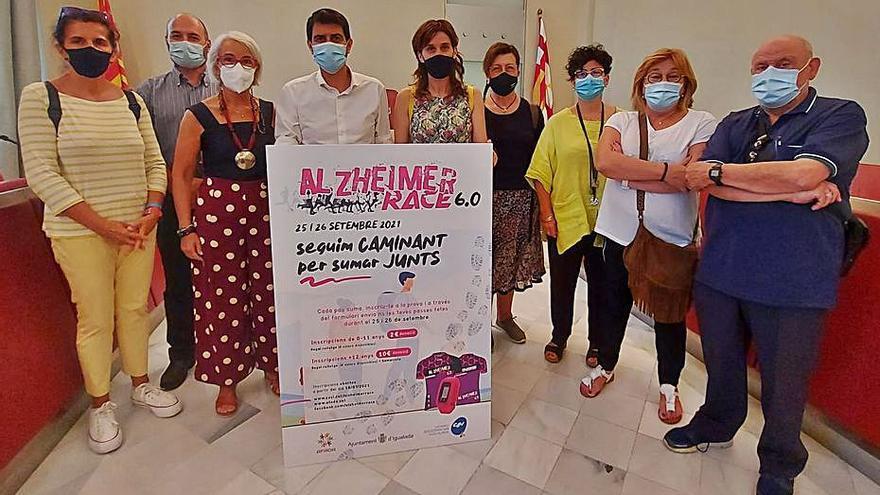 Igualada farà una edició adaptada a la pandèmia de la caminada per l'Alzheimer