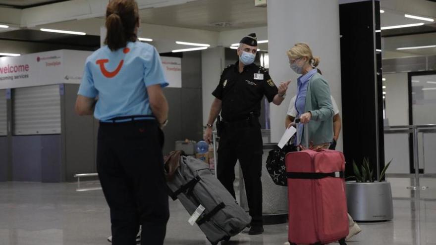 Llegan a Mallorca los primeros turistas alemanes postcoronavirus