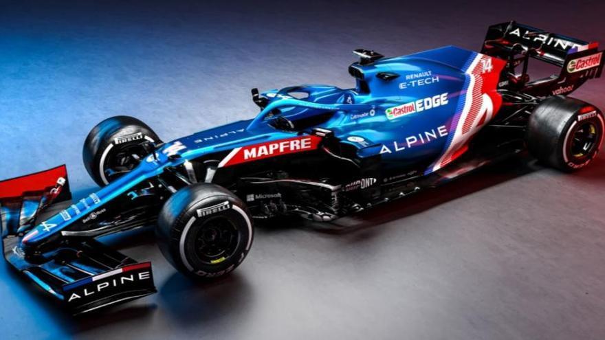 Desvelado el aspecto del Alpine F1, el coche para el regreso de Fernando Alonso