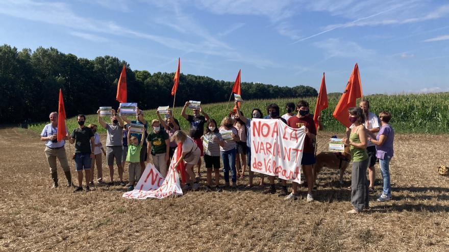 """""""No a la variant de Vilafant"""" demana suport a les institucions"""