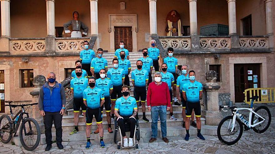 Ruta El Club Ciclista Andratx se presenta