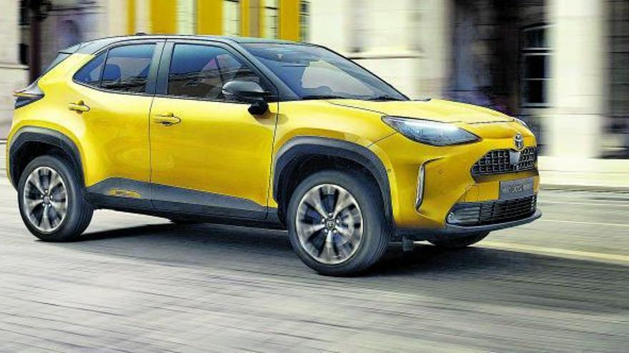 El Toyota Yaris Cross busca un lloc a la final