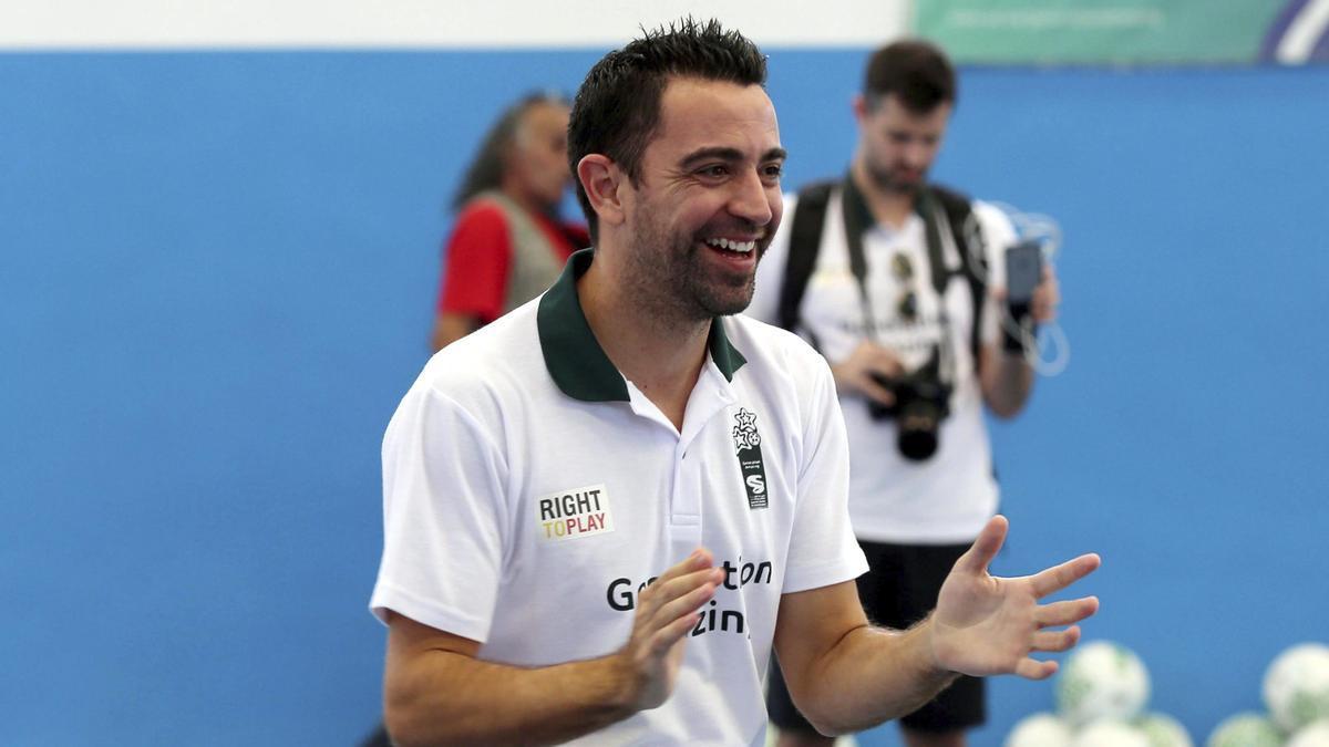 Catalan coach Xavi Hernández