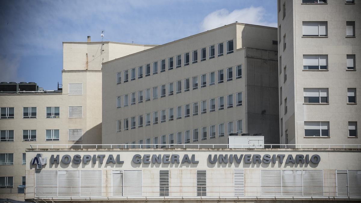 Imagen de archivo del Hospital General de Alicante.