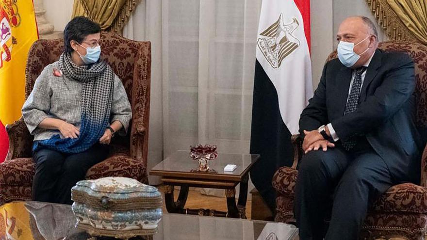Laya se reúne con Al Sisi para tratar la relación con Egipto