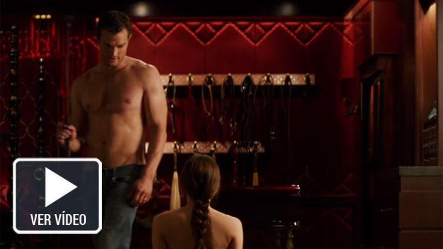 'Cincuenta Sombras liberadas': Jamie Dornan rodó escenas completamente desnudo
