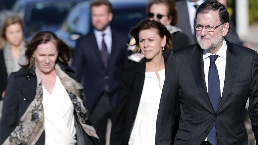 Rajoy encapçala l'homenatge del PP i la societat valenciana a Rita Barberá