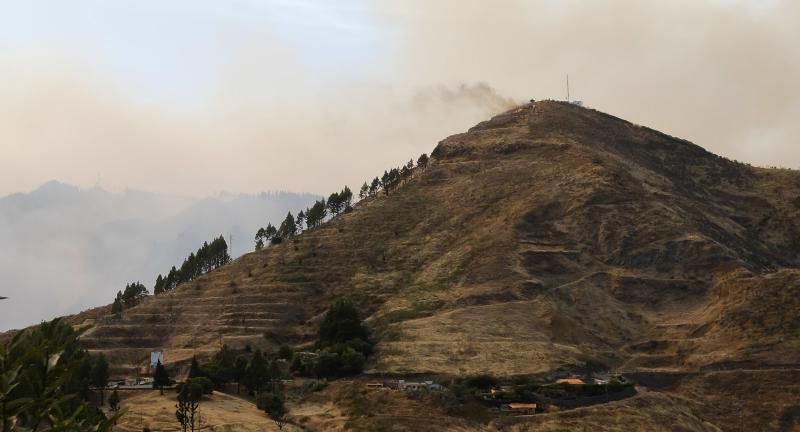 Incendio en Valleseco