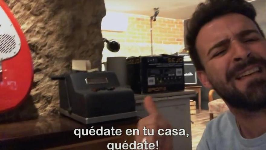 'Quédate en tu casa': el himno de la cuarentena, con Funambulista