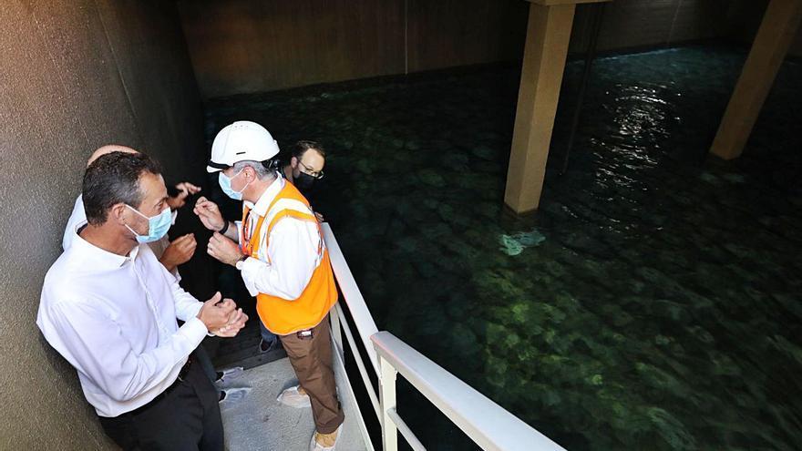 Arenales y El Altet reciben ya agua del nuevo depósito