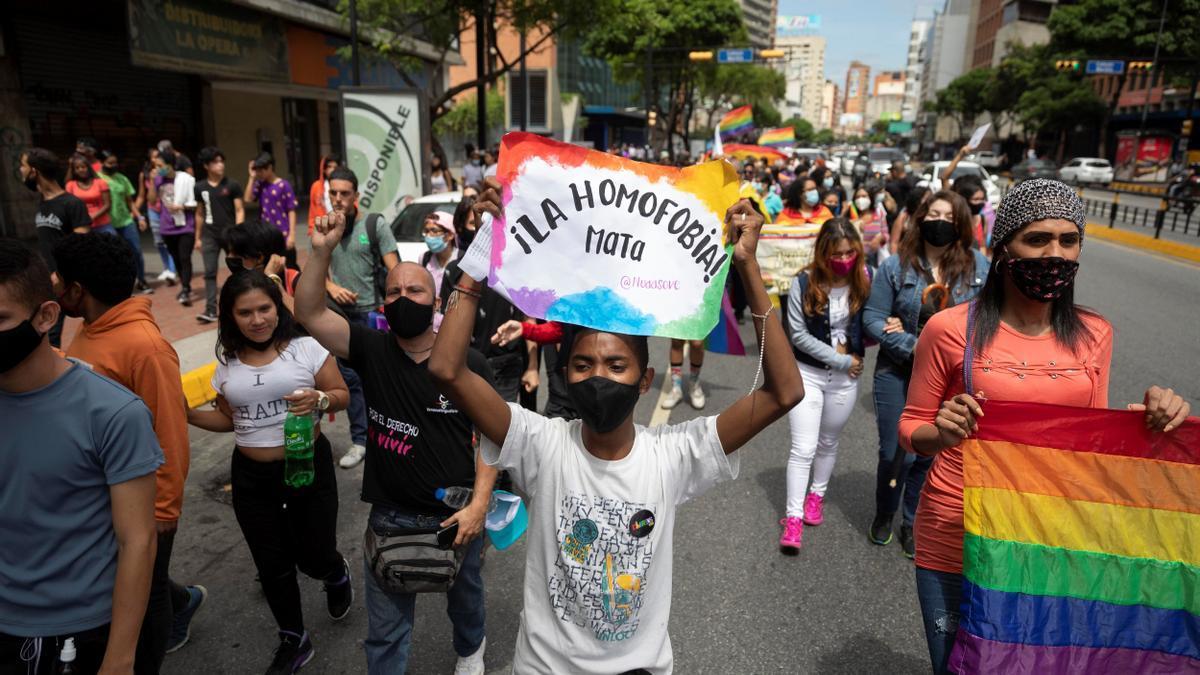 La comunidad LGBTI de Venezuela exige inclusión y respeto a sus derechos.
