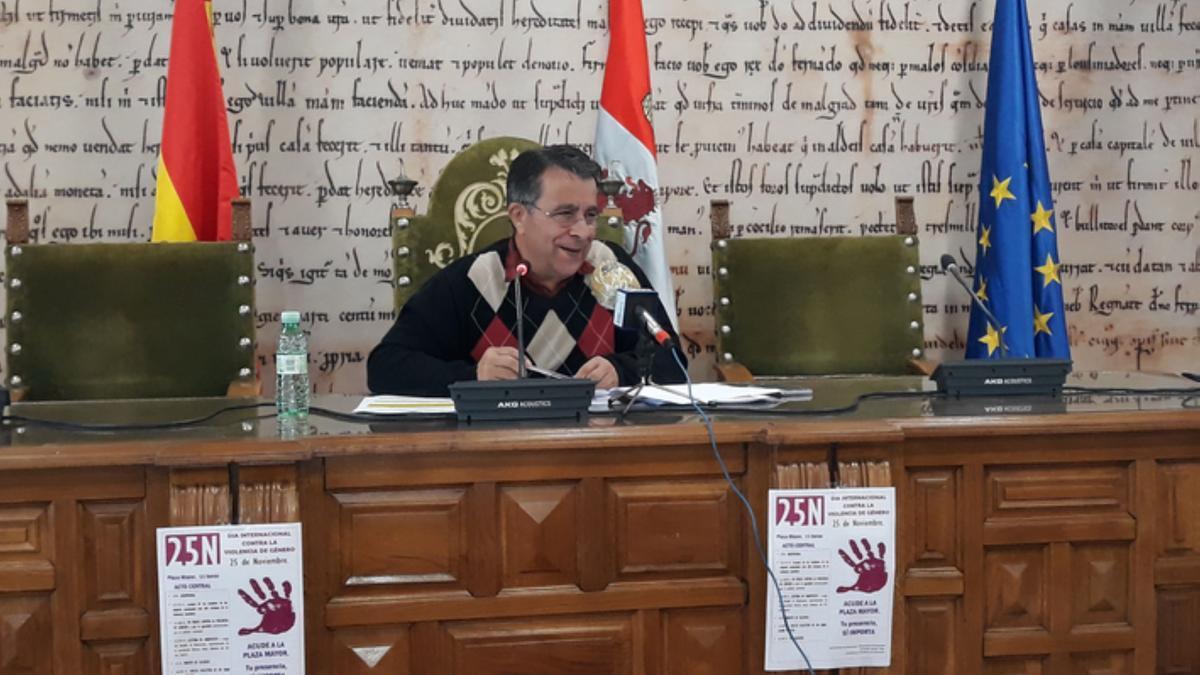Antonio Vega, concejal de Bienestar Social de Benavente. / E. P.