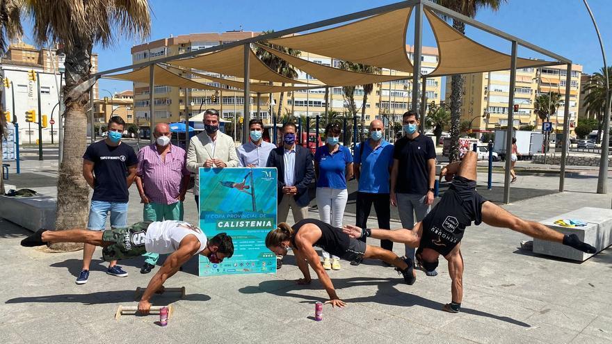 Nace la Copa Provincial de Calistenia Diputación de Málaga para impulsar este deporte en los gimnasios al aire libre de la provincia