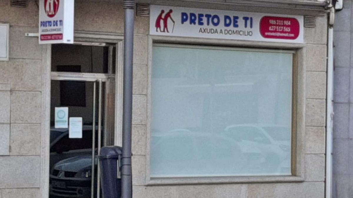 La empresa Preto de ti, que en Moaña cubre el Servicio de Axuda no Fogar.   | //