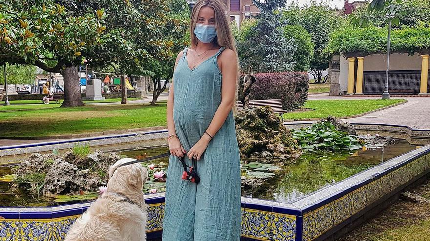 Hugo, el bebé medio asturiano de Fonsi Nieto y Marta Castro