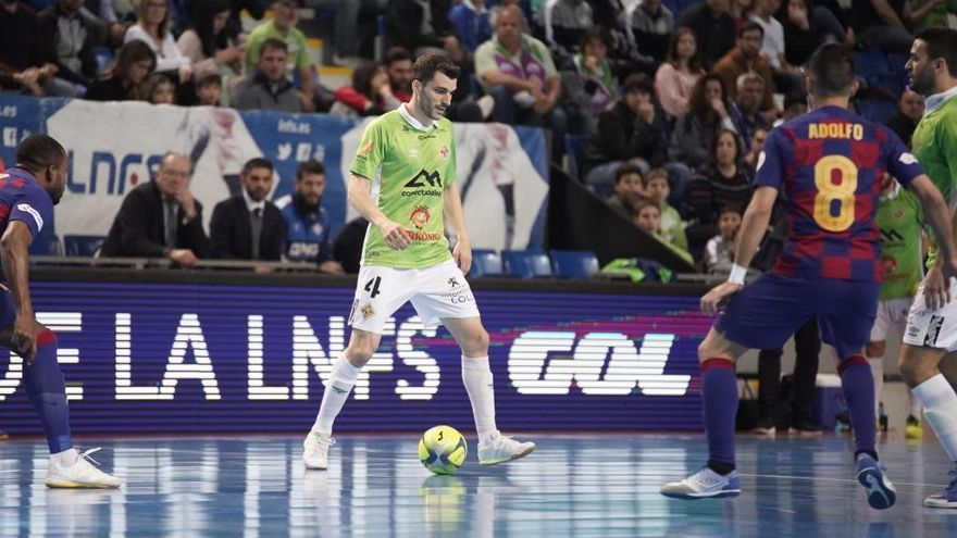 El Palma Futsal deja escapar la victoria ante el Barcelona a un minuto del final (1-1)