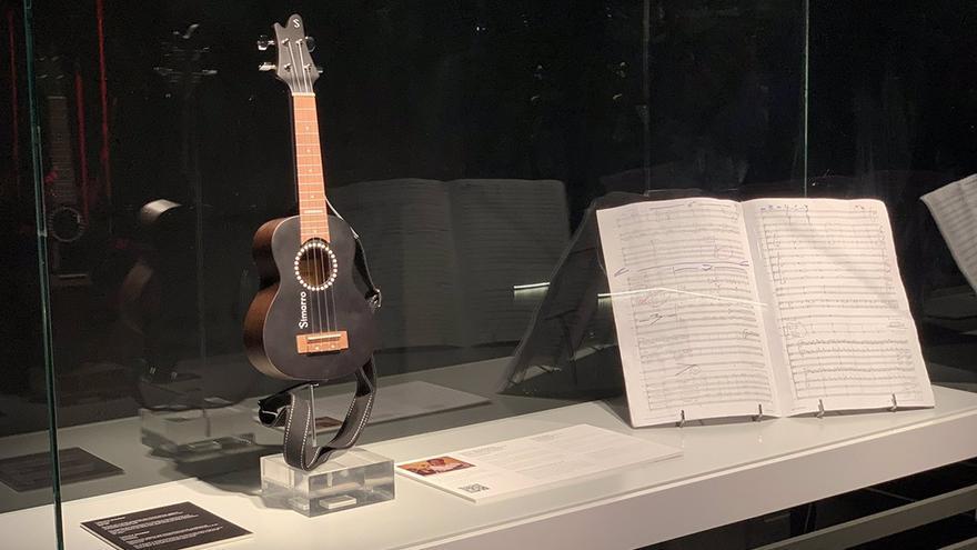 Las partituras y el ukelele de Juan Antonio Simarro ya forman parte de la colección permanente del Mimma