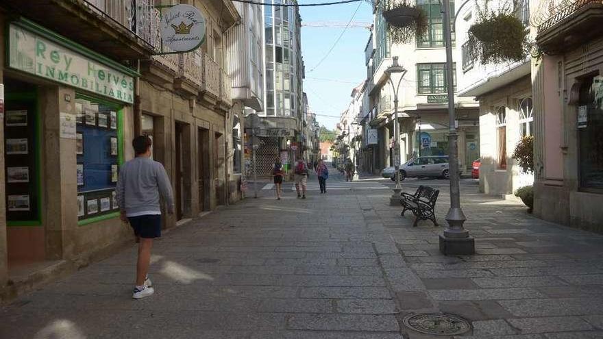 Despoblación en la comarca de Caldas
