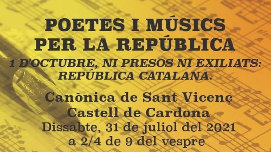 Recital de poesia i música