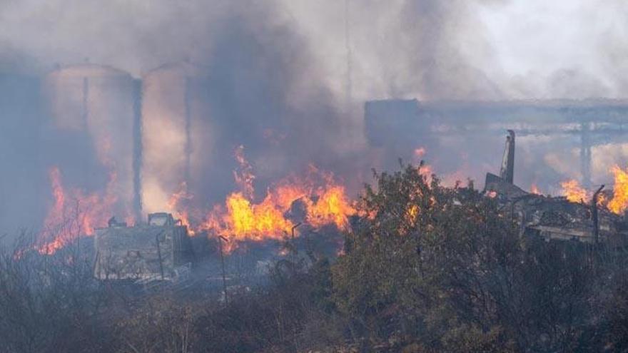 Detienen al presunto autor de tres incendios en La Palma