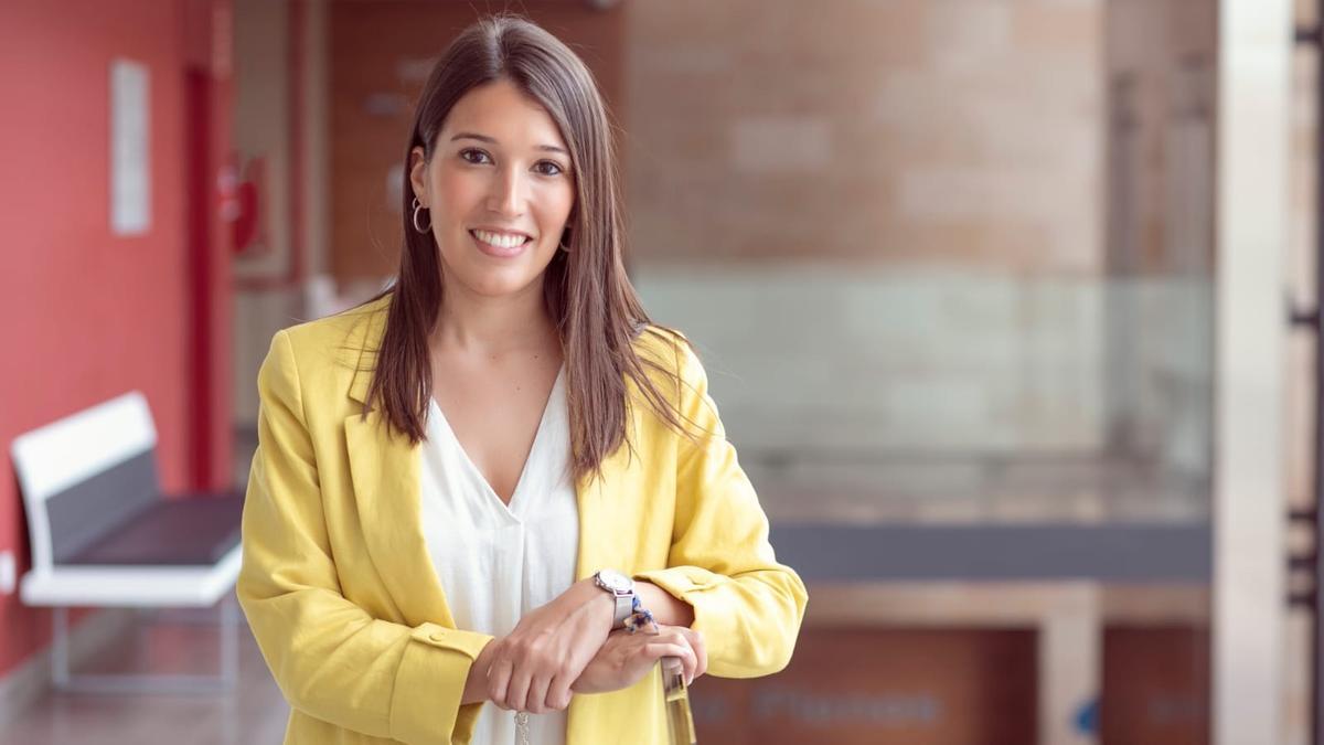 La diputada de Medio Natural y alcaldesa de Orpesa, María Jiménez.