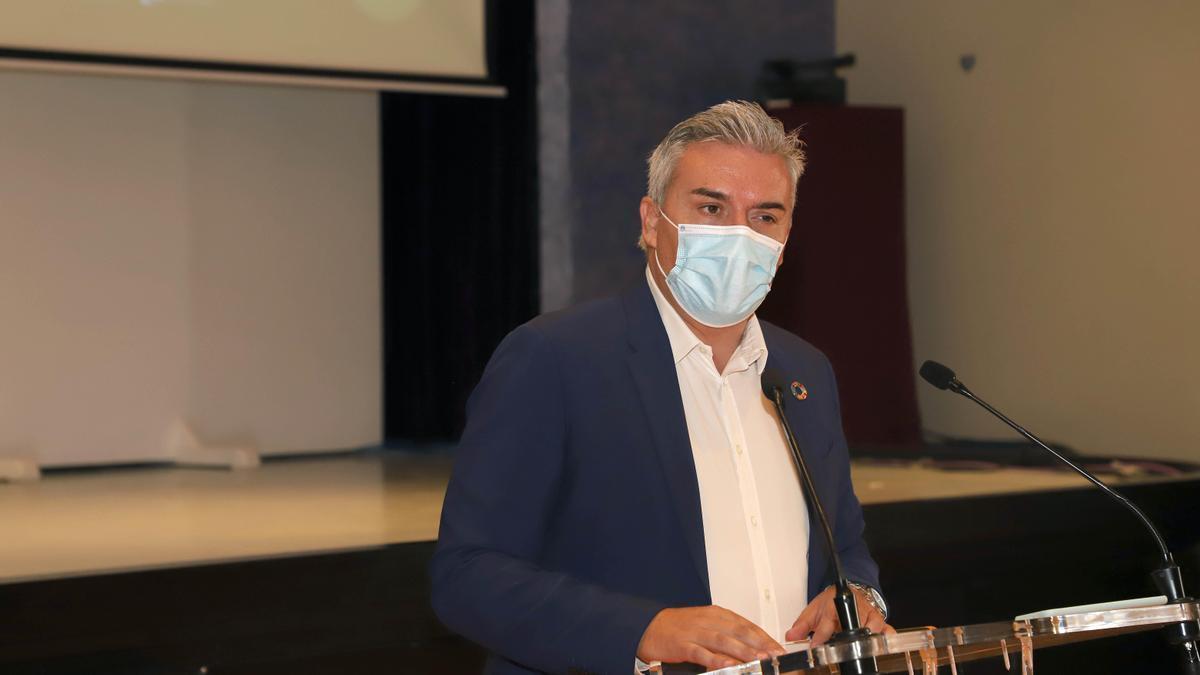 Víctor Montoro, presidente de la Agencia Provincial de la Energía