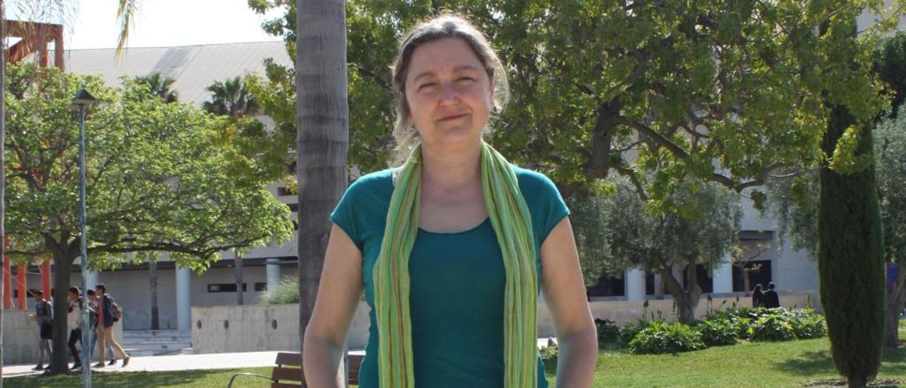 María Jiménez Delgado, investigadora de la UA autora del estudio.
