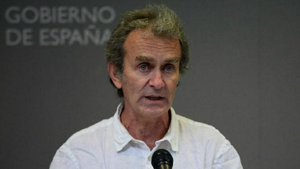 Fernando Simón, director del Centro de Coordinación de Alertas y Emergencias Sanitarias del Ministerio de Sanidad