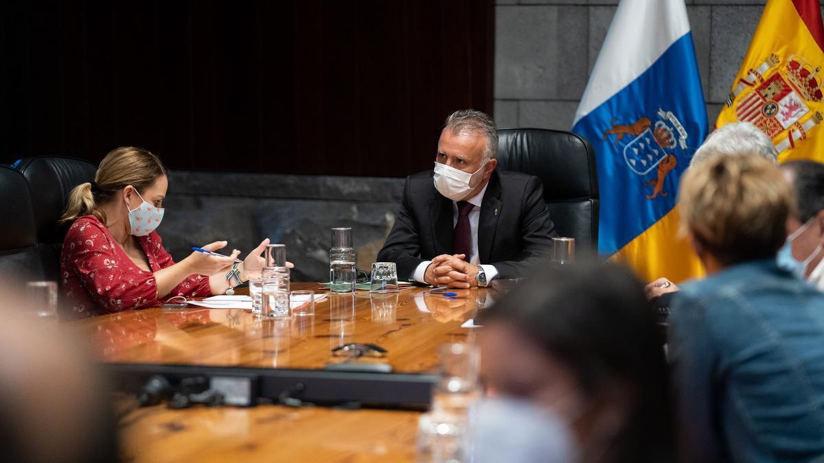 Today's Governing Council meeting in Santa Cruz de Tenerife.