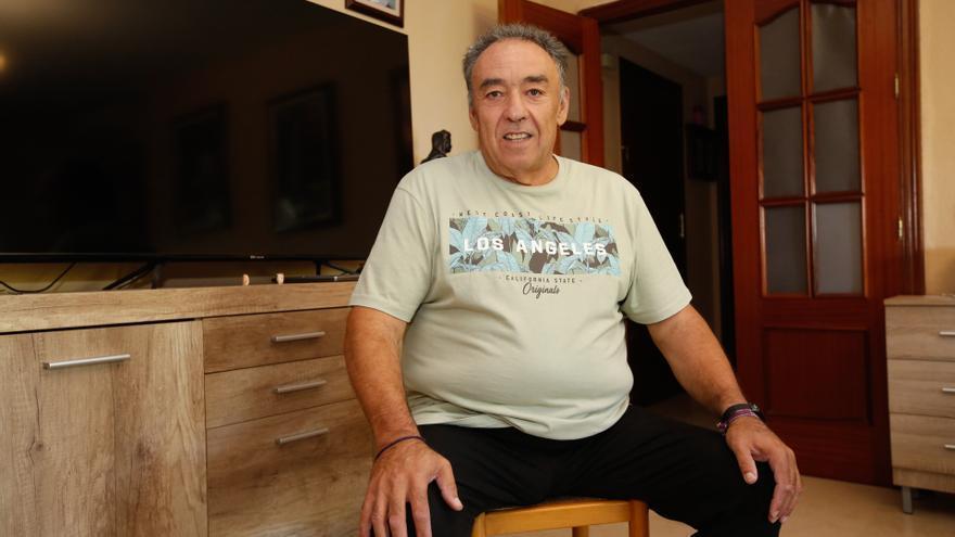 """José Moyano: """"Son todos unos grandes profesionales, me siento muy bien atendido"""""""