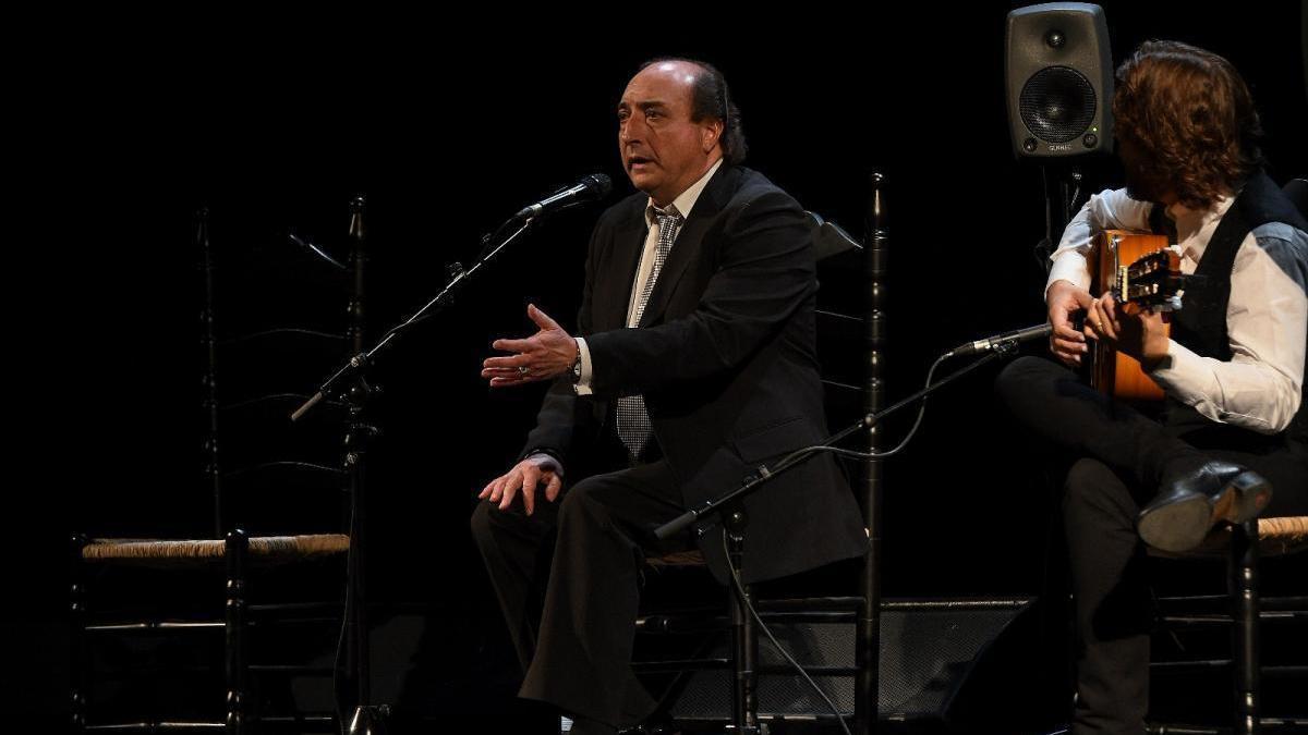El Calli, 'Flamenco puro', mañana en el Gran Teatro