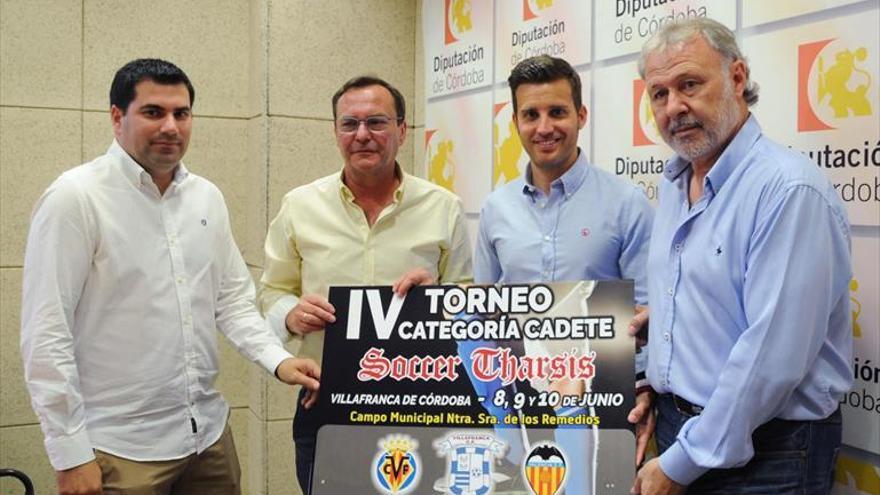Villafranca acogerá un torneo de fútbol cadete