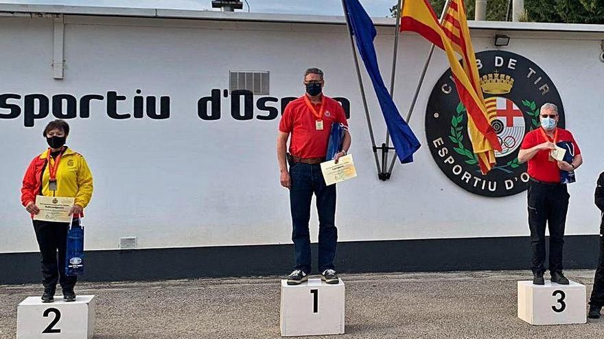 Anna M. Herrera signa el segon lloc a l'estatal F-Class 50 m Restricted