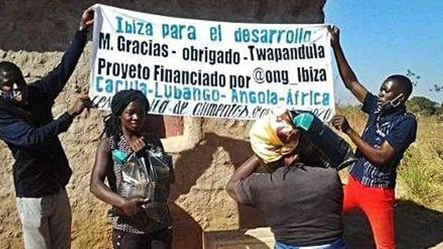 Ayuda ibicenca para Angola