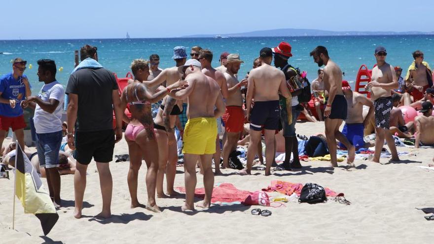 Nach 27.600 Strandbesuchern ist an der Playa de Palma Schicht