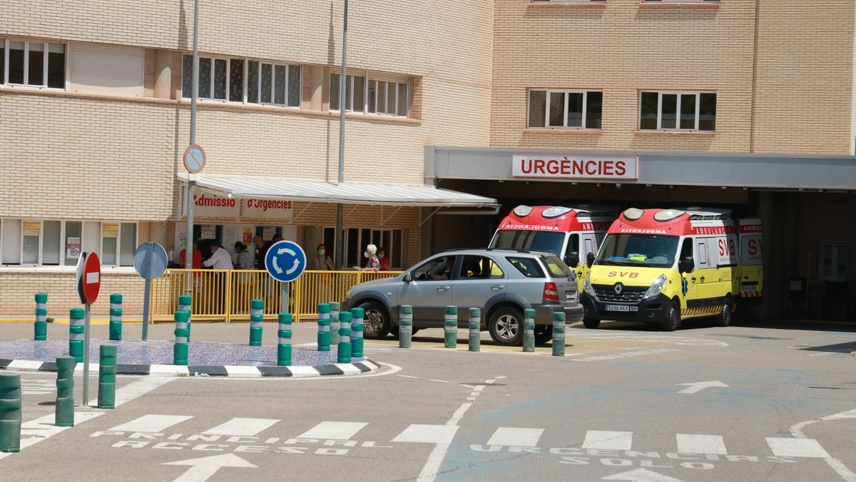 Imagen de las Urgencias del Hospital General de Castelló.
