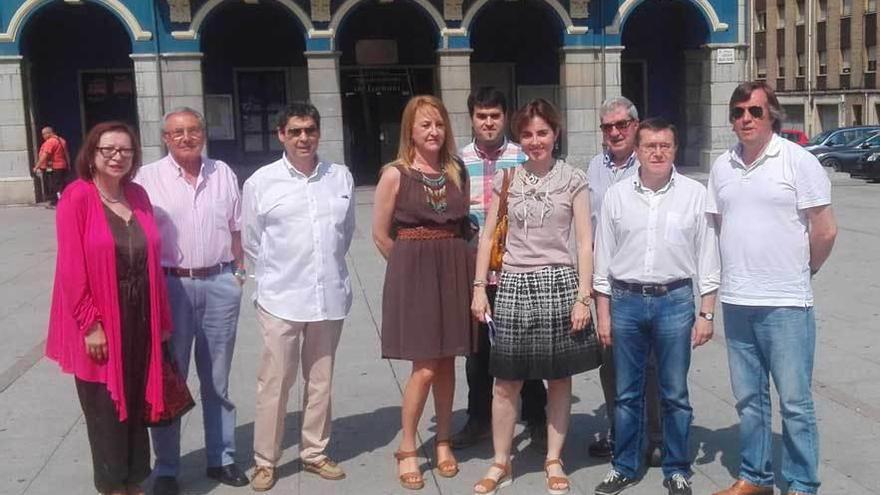 El PP pide la dimisión de Barbón por liderar el cierre de las minas
