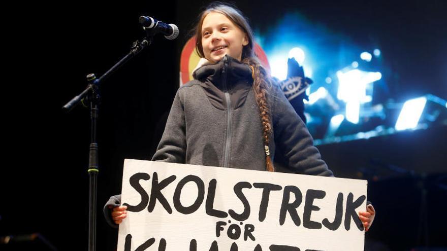 Greta Thunberg registra el seu nom i el del seu moviment com a marques comercials