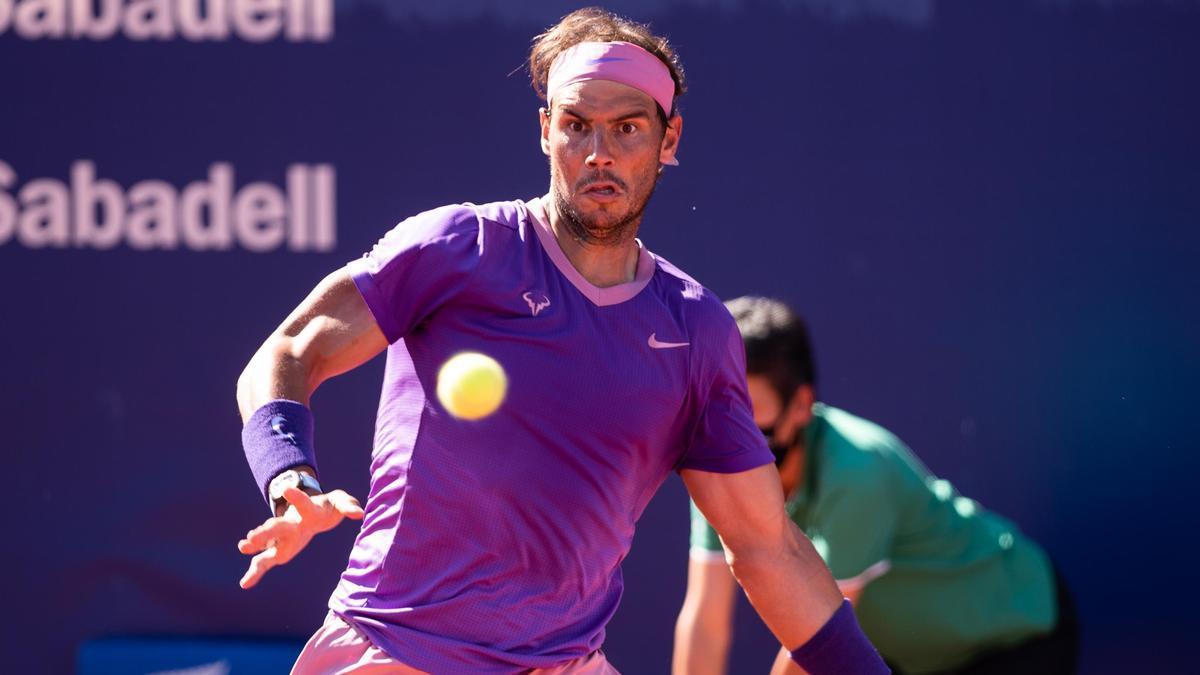 An image of Rafa Nadal.