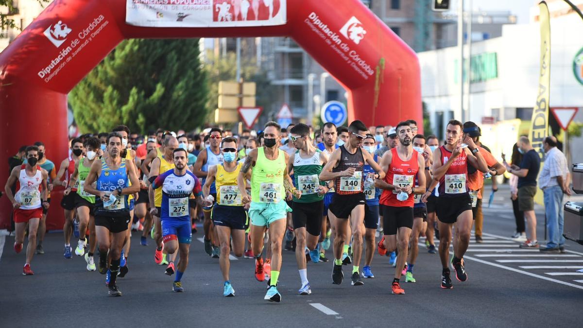 Las imágenes de la Media Maratón a Almodovar