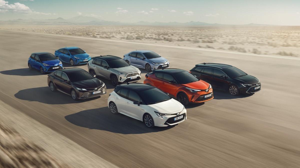 Este es el origen de los nombres de los actuales modelos de Toyota